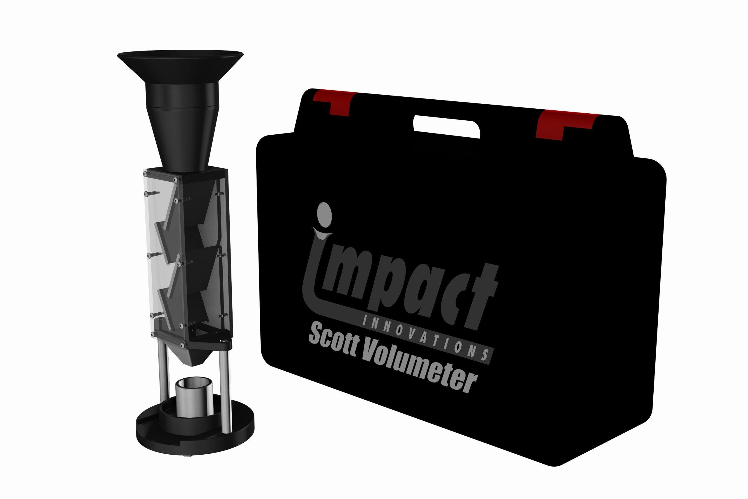 Impact Innovations Scott-Volumeter-Kit_001 for cold spraying