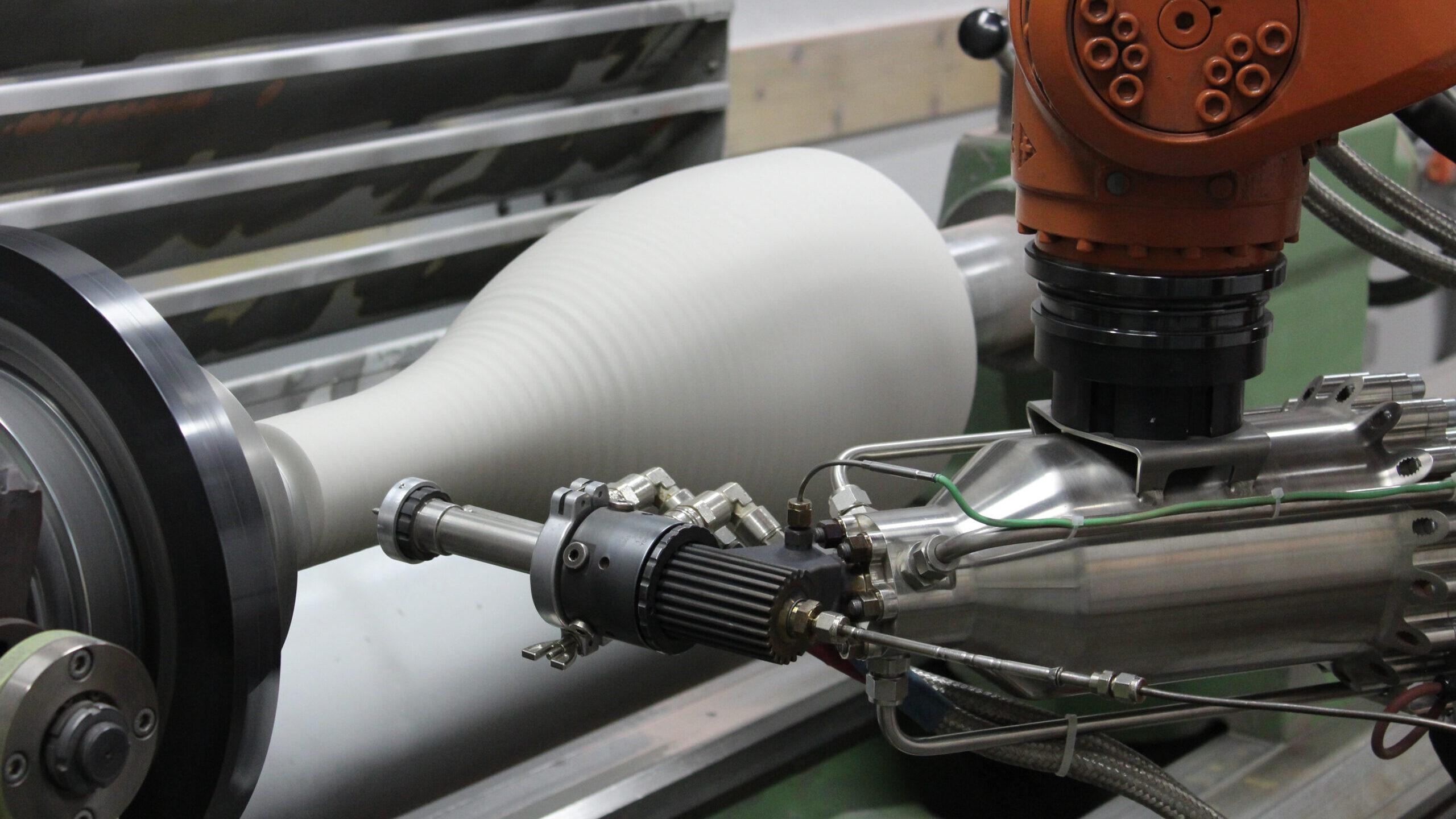 Additiv gefertigte Raketendüse mit Kaltgas