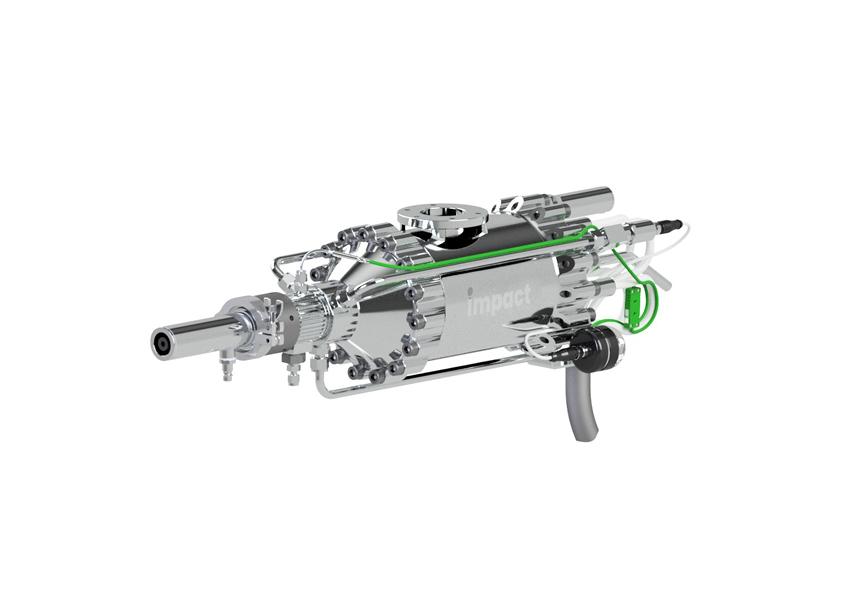Cold Spray Equipment spray gun