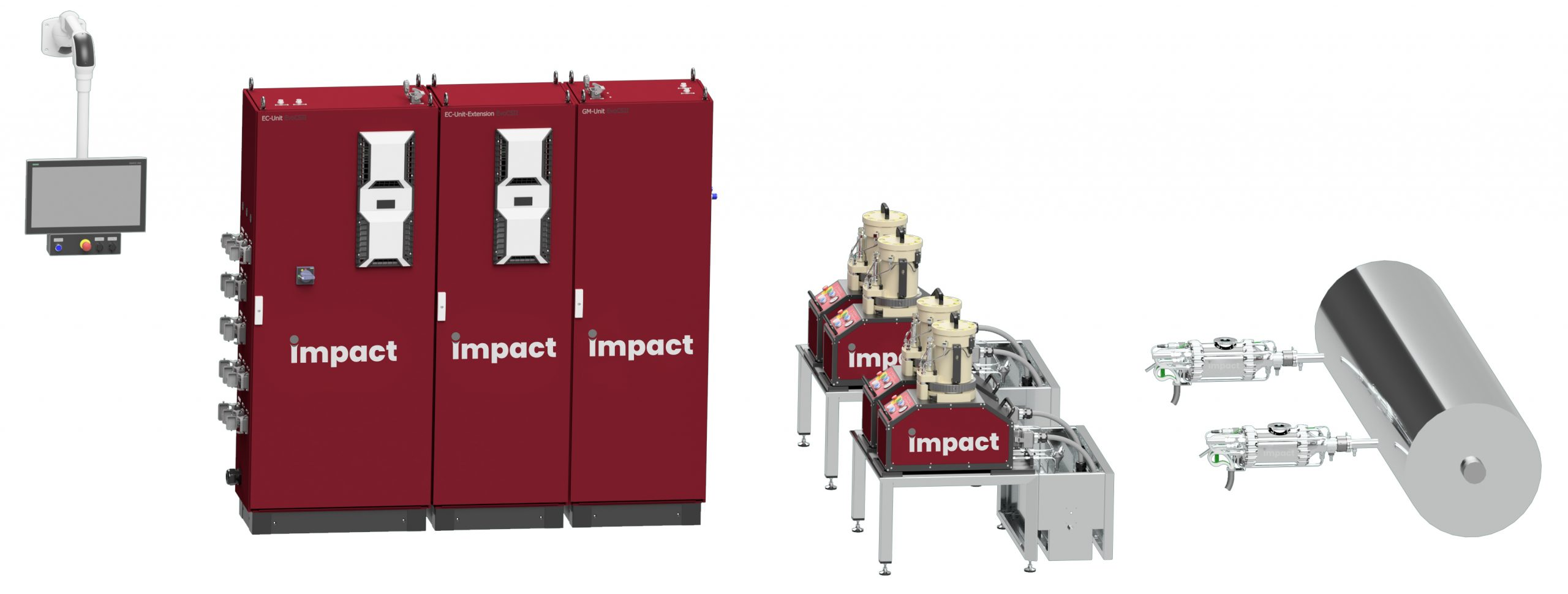 Impact Cold Spray System EvoCSII